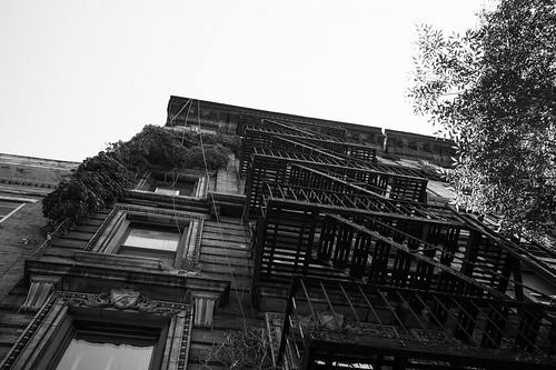 "Image titled ""Fire Escapes #11, NYC."""