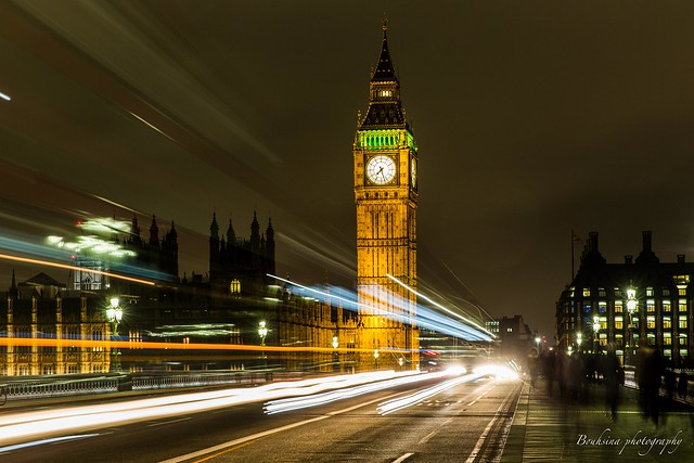 Westminster by night - London