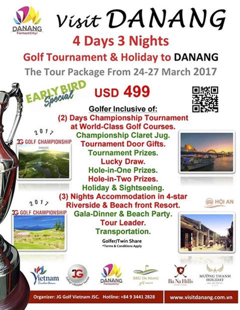 JG Golf Championship Danang 2017