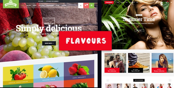 Flavours v1.4 - Multipurpose WooCommerce Theme