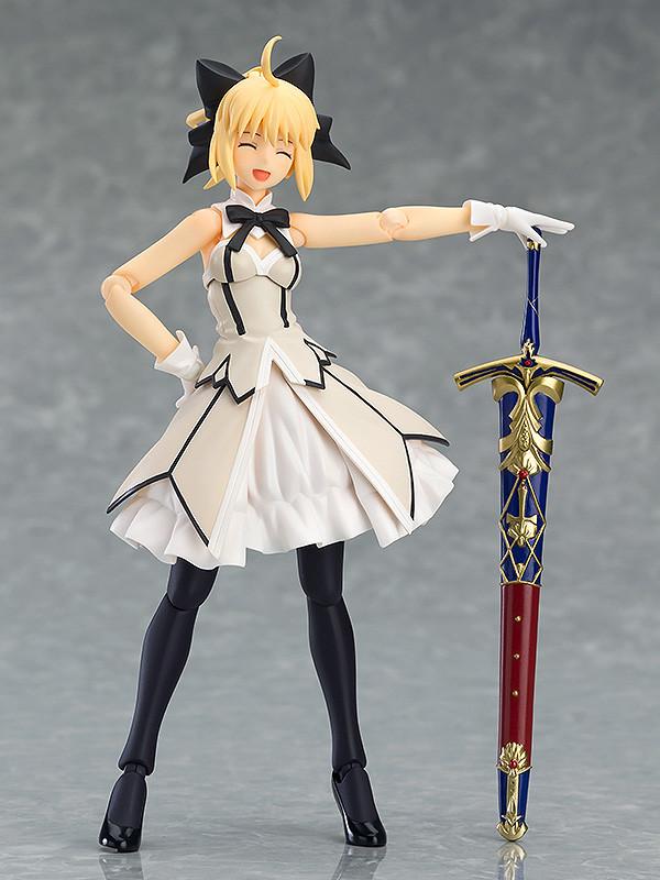 純白的騎士姬 figma《Fate/Grand Order》Saber/阿爾托莉亞・潘德拉岡[Lily] 第三再臨ver.