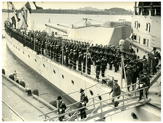 Prince of Wales arrives in Auckland, Royal Tour 1920