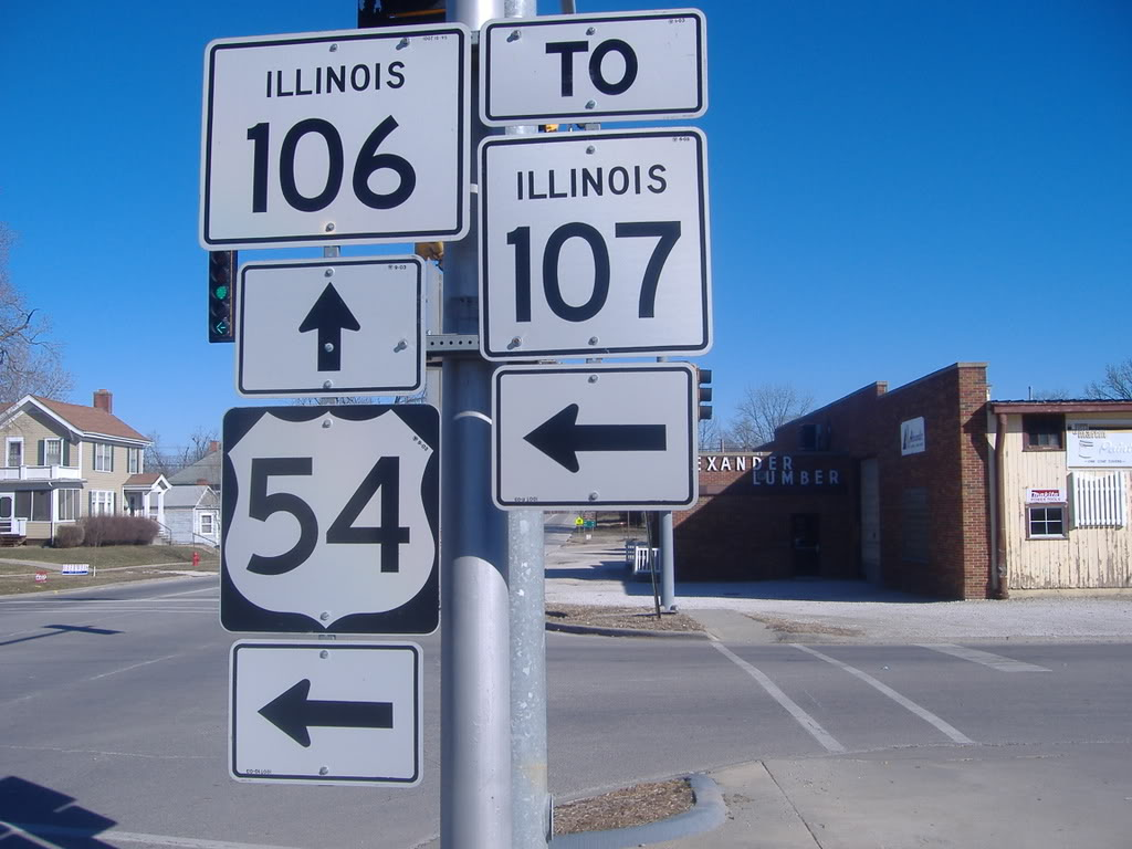 Illinois pike county griggsville - Il 106 Us54ee