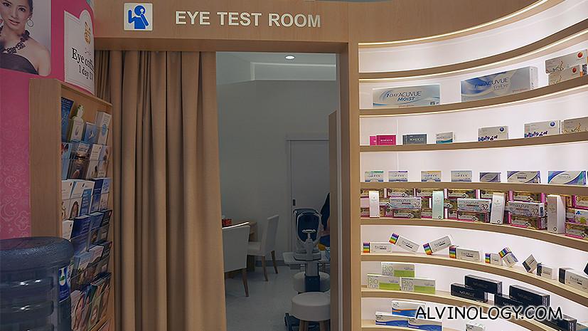 Eye Test Room