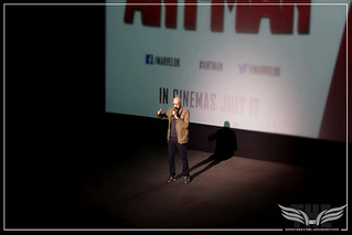 The Establishing Shot: DIRECTOR PEYTON REED WELCOMES US TO THE FIRST LARGE 3D SCREENING OF ANT-MAN AT A SCREENING OF MARVEL'S ANT-MAN IN LONDON