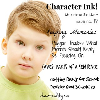 Character Ink Newsletter no. 19