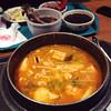 kimchi tofu hotpot
