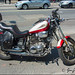 Virago Motor Bike On Bloor Street by Jeannot7