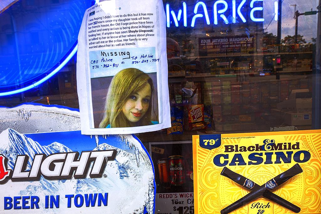 Missing Shayla Glogowski--Scranton