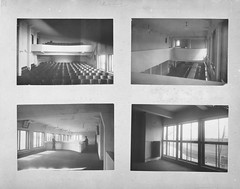 Unknown  Interior views of the House-commune of transitional type communal centre, some showing Solomon Lisagor, Rostokino, Moscow, 1928-1930