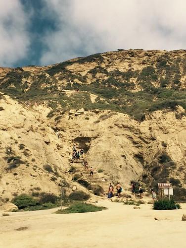 Black's Beach cliff
