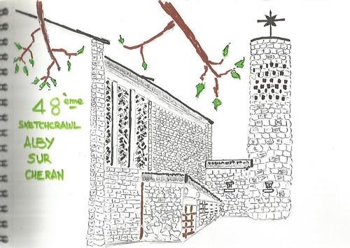 L'église d'Alby sur chéran