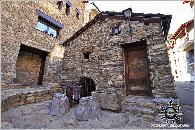 Antiguo molino de harina de Canillo, Canillo. Andorra.