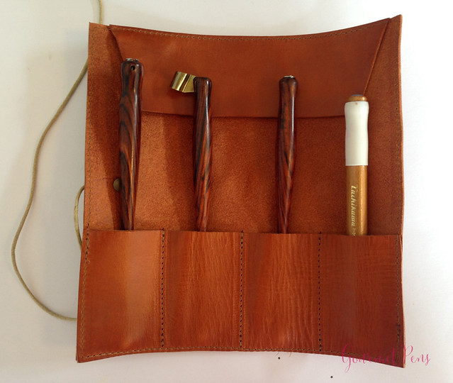 Review Paper Republic Le Porte Crayon Leather Pen Holder (2)