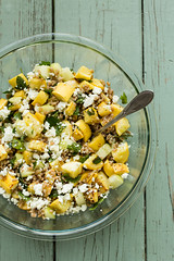 Yellow Squash and Farro Salad {Explored}
