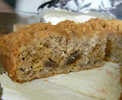 Banana - Graham Crumb Cake