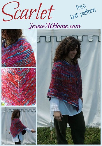 Scarlet ~ free knit pattern by Jessie At Home