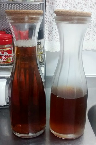 ウーロン茶の保存はIKEAの水差し