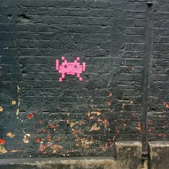 Just can't move in LDN for space invaders these days.