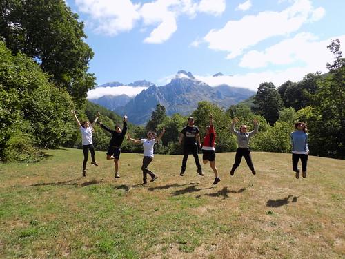 Voluntarios en el Parque Nacional de Picos de Europa