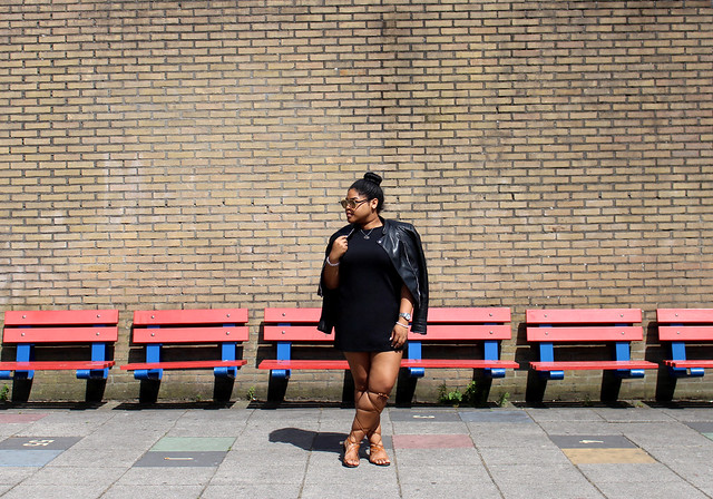 ebay, mango, new look, lace up sandals, gladiator sandals, ootd, blogger, black girl, fashion, streetstyle, style, high bun, casio, bijenkorf, how to, a line dress, shift dress, primark