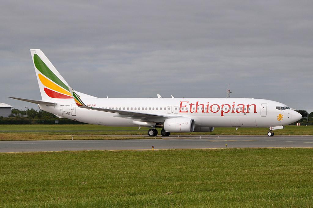 ET-AQQ - B738 - Ethiopian Airlines