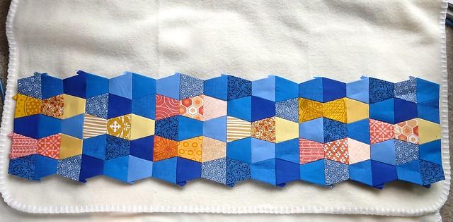 Tumbler Fish Baby Blanket