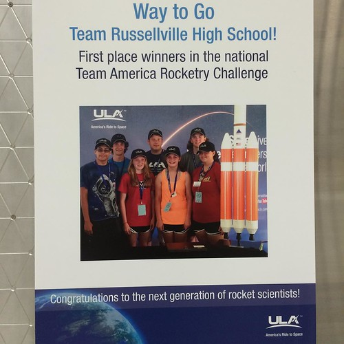 Nice to see @ulalaunch supporting community and #STEMeducation #STEM #STEAM #ulalaunch #TheMarsGeneration #marsgeneration