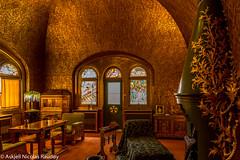 The Golden Room at Pelișor Castle