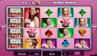Bridesmaids slot game online review