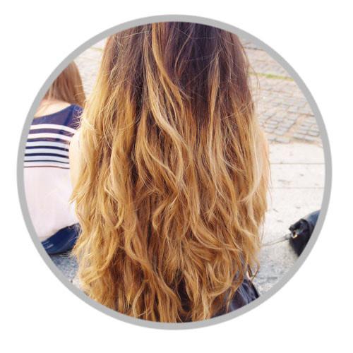 Haarfarbe Trend Fur Fruhjahr Sommer 2015 Die Ombre Techn Flickr