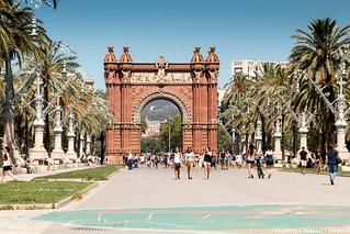 Attēls no Arc de Triomf. barcelona canon70d spain cataluña es