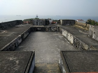 Image of Cihou Fort. taiwan