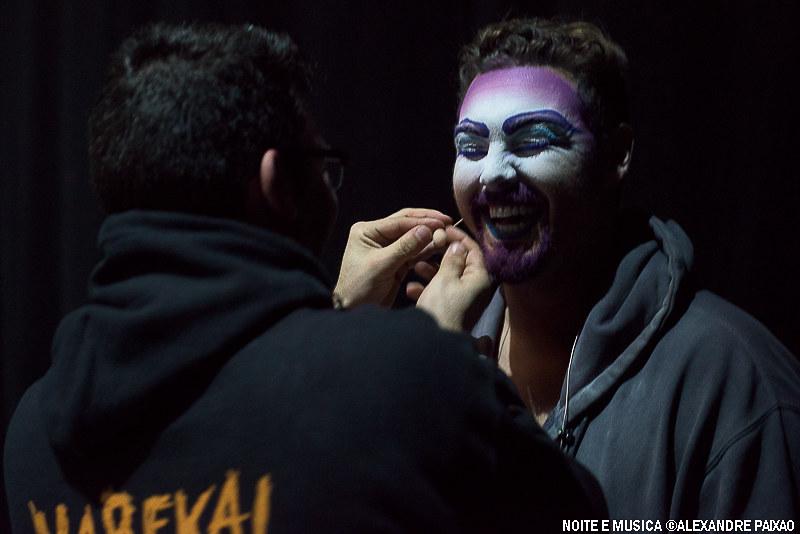 Backstage - Cirque du Soleil Varekai MEO Arena '17