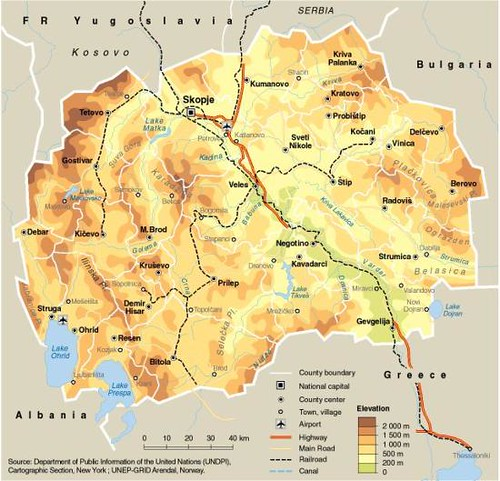 The Former Yugoslav Republic Of Macedonia Fyrom