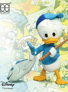 HEROCROSS【聰明鴨:杜兒】唐老鴨俱樂部 Dewey Duck HMF#54