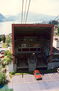 Weggis cable car station