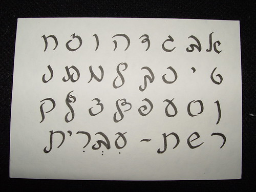 Hebrew Calligraphy Fonts