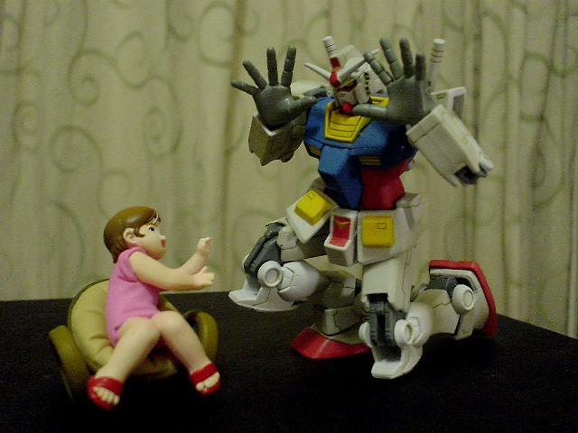 Baby-sitter Gundam!