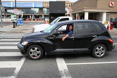 executive car(0.0), minivan(0.0), compact sport utility vehicle(0.0), chevrolet hhr(0.0), automobile(1.0), automotive exterior(1.0), sport utility vehicle(1.0), wheel(1.0), vehicle(1.0), chrysler pt cruiser(1.0), city car(1.0), chrysler(1.0), land vehicle(1.0), luxury vehicle(1.0),