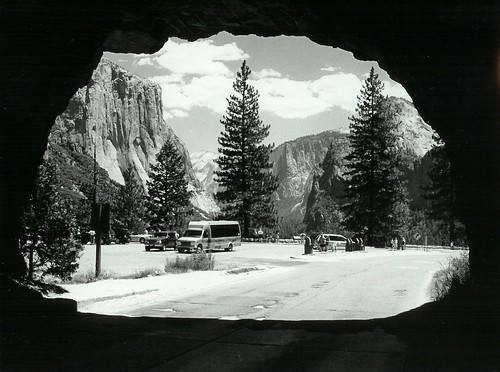 Yosemite from tunnel