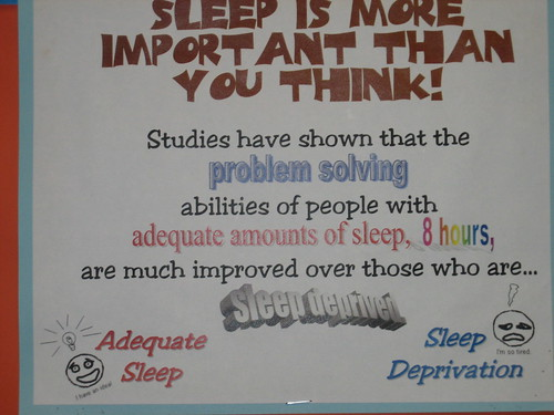 SLEEP IS MORE IMPORTANT THAN YOU THINK!