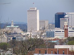 View of Downtown Nashville from Love Circle