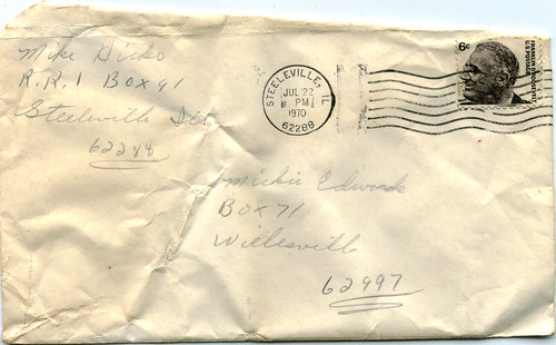 Found: Love Letter -- Envelope