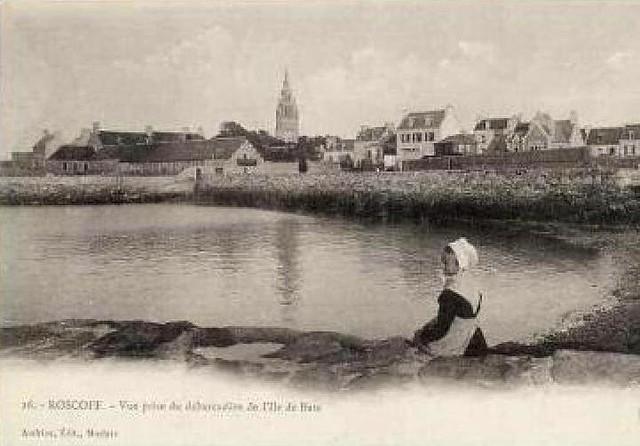 Roscoff - Débarcadère pour l'île de Batz