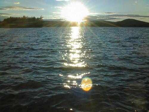 sunset geotagged pond great maine geotoolyuancc jemweald geolat44567541 geolon69854507