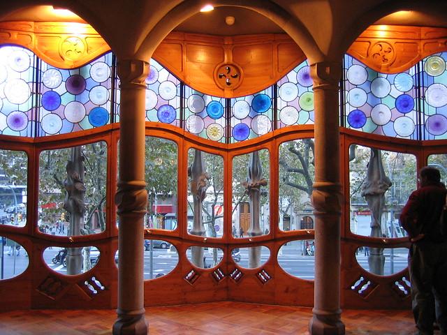 Casa Batlló. Interior  Flickr - Photo Sharing!