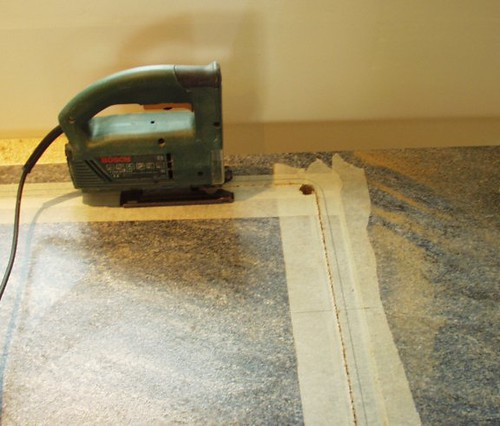 Kitchen Worktop Cutting Derby