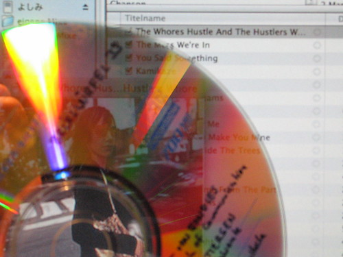 Transparent CD