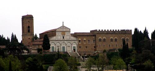 San Miniato al Monte, from Loggiato of Saturn